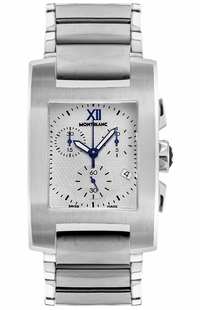 MontBlanc Profile Chronograph Silver Dial Men's Watch 101561