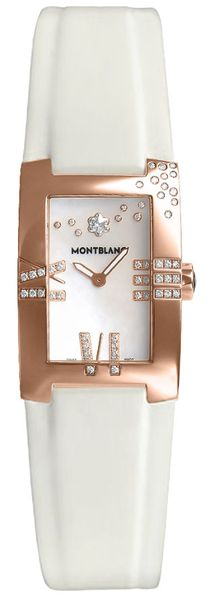 MontBlanc Profile Elegance Solid 18k Rose Gold Women's Watch 104288