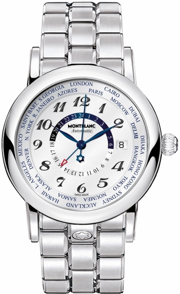 MontBlanc Star GMT World Time Men's Watch 106465