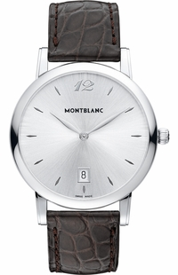 MontBlanc Star Silver Dial Men's Watch 108770
