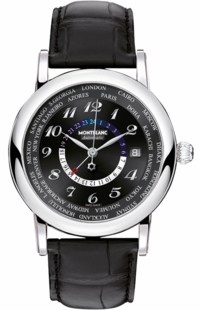 MontBlanc Star Black Dial Men's Watch 109285