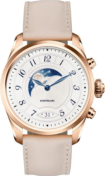 MontBlanc Summit 2 Rose Gold PVD Steel 42mm Smartwatch 125837