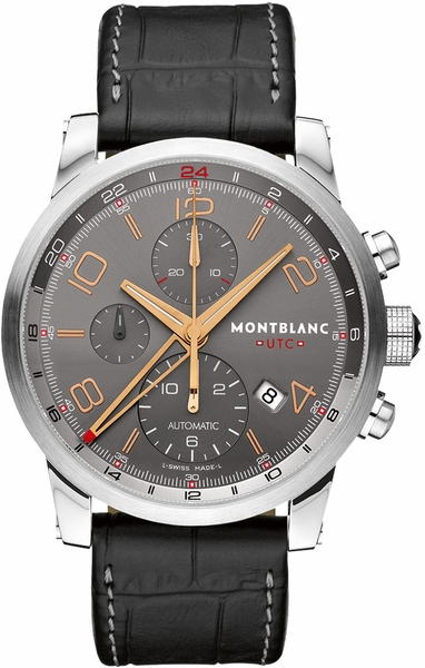 MontBlanc TimeWalker GMT Automatic Chronograph Men's Watch 107063