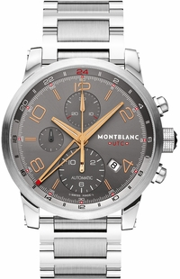 MontBlanc TimeWalker Automatic Chronograph Grey Dial Men's Watch 107303