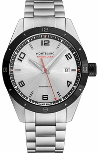 MontBlanc TimeWalker Automatic Silver Dial Men's Watch 116057