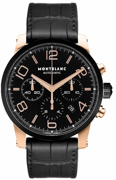 MontBlanc TimeWalker Chronograph Automatic Men's Watch 104668