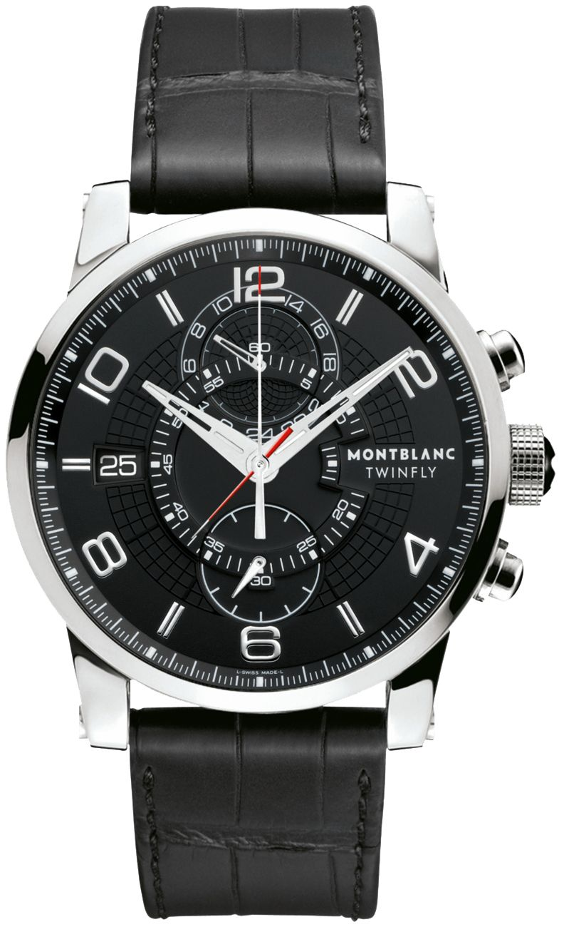 MontBlanc Men's TimeWalker Chronograph Watch 105077