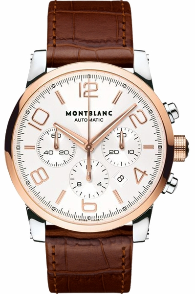 MontBlanc TimeWalker Solid Gold Men's Watch 107322
