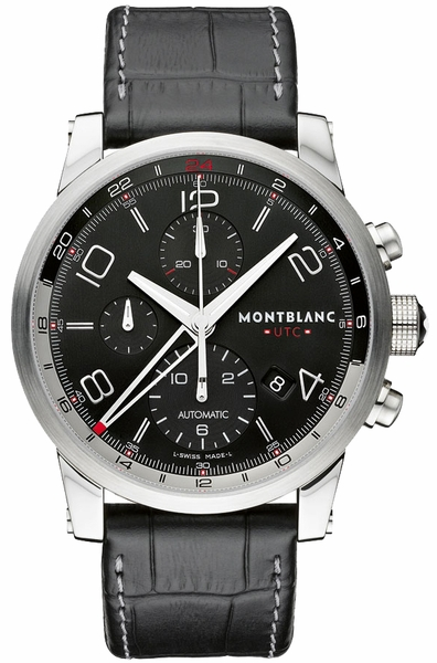 MontBlanc TimeWalker Chronovoyager UTC Automatic Men's Watch 107336