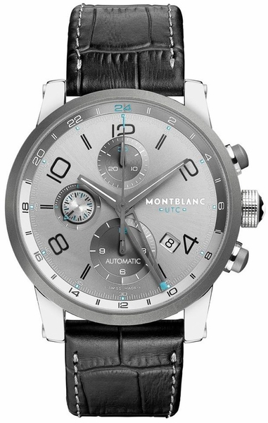 MontBlanc TimeWalker Chronograph Automatic Men's Luxury Watch 107339