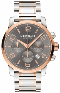 MontBlanc TimeWalker Chronograph 43mm Men's Watch 107321