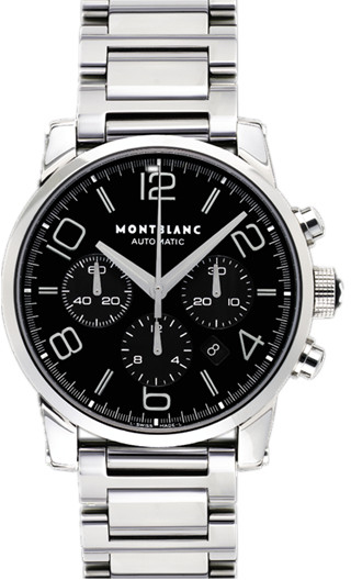 MontBlanc TimeWalker Chronograph Men's Watch 9668