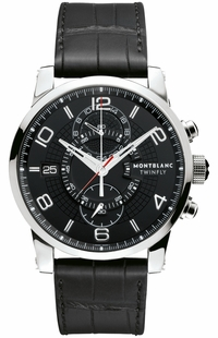 MontBlanc TimeWalker Chronograph Men's Watch Save 105077