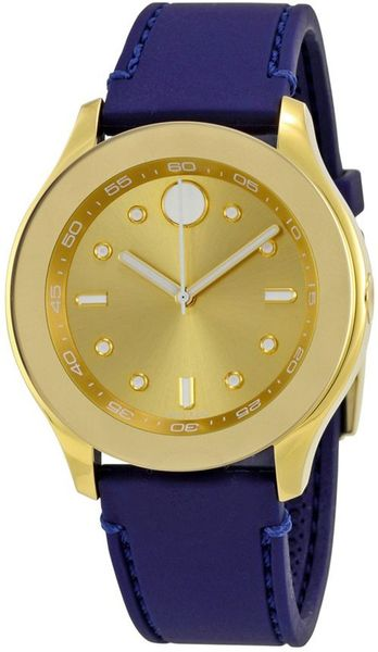 Movado Bold Blue Strap Women's Watch 3600413