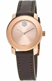 Movado Bold Rose Dial Women's Watch 3600438