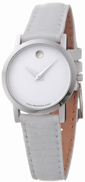 Movado Classic Museum Museum White Dial Women's Watch 0605652