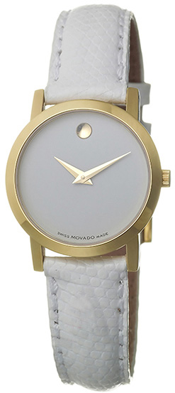 Movado Classic Museum Women's Gold Watch 0605656