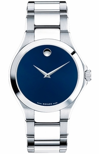 Movado Defio Blue Dial Men's Watch 0606335