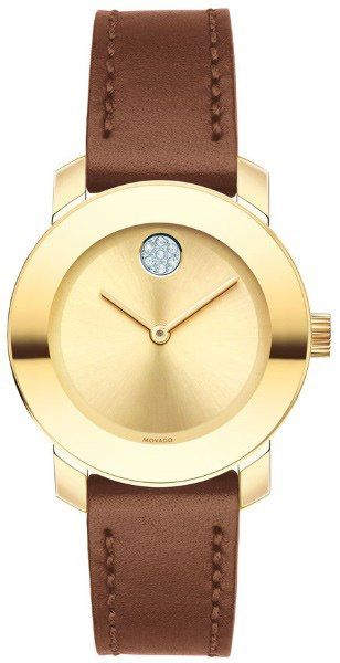 Movado Bold Gold Women's Watch 3600437