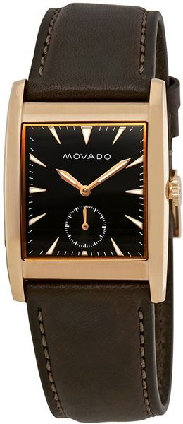 Movado Heritage Rectangle Men's Watch 3650042