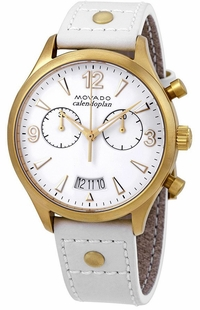 Movado Heritage White Dial Men's Watch 3650026
