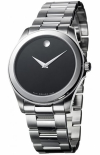 Movado Junior Sport Black Dial Men's Watch 0605746