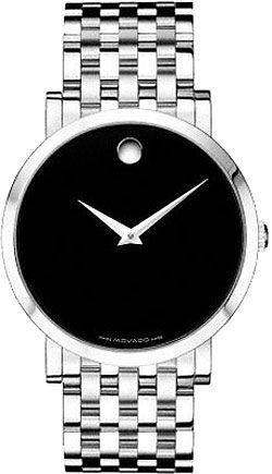 Movado Museum Automatic Stainless Steel Ladies Watch 0605343