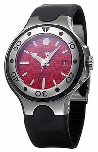 Movado Series 800 Red Dial 43mm Men's Watch 2600012
