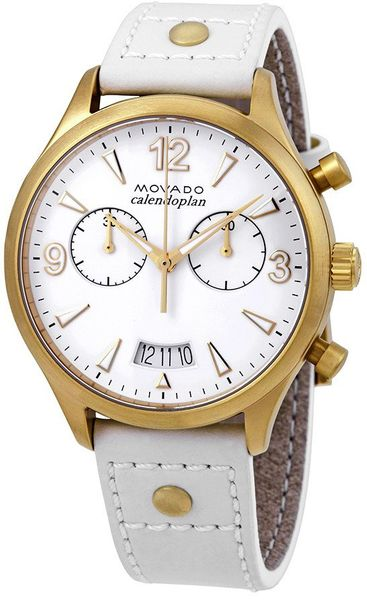 Movado Heritage White Dial Women's Watch 3650026