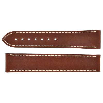 Omega 20mm Brown Leather Strap 032CUZ006728