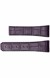 Omega 23mm Purple Strap 98000341