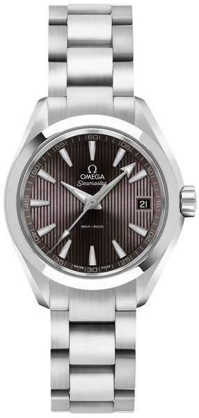 Omega Seamaster Aqua Terra Grey Dial Stainless Steel Women's Watch 231.10.30.60.06.001