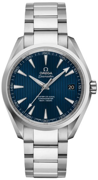 Omega Seamaster Aqua Terra Blue Steel Men's Watch 231.10.39.21.03.002