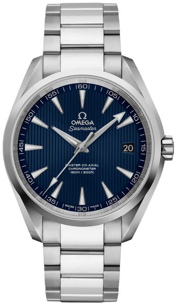 Omega Seamaster Aqua Terra Blue Dial Men's Luxury Watch 231.10.42.21.03.003