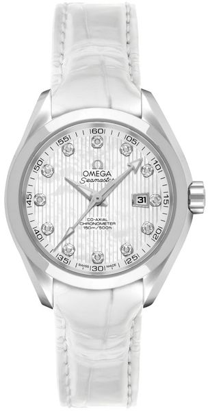 Omega Seamaster Aqua Terra 34mm Chronometer Women's Watch 231.13.34.20.55.001