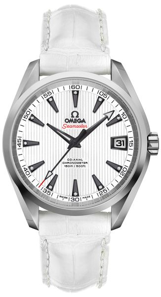Omega Seamaster Aqua Terra White Dial Men's Luxury Watch 231.13.39.21.54.001