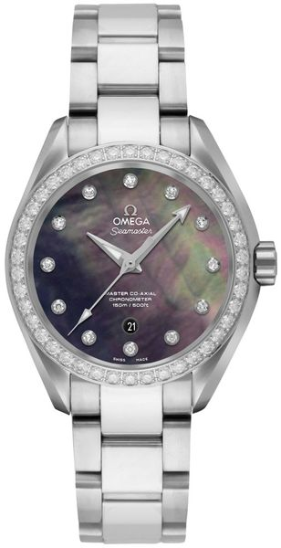 Omega Seamaster Aqua Terra Diamond Women's Watch 231.15.34.20.57.001