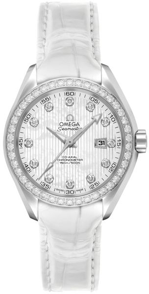 Omega Seamaster Aqua Terra Diamond Women's Watch 231.18.34.20.55.001