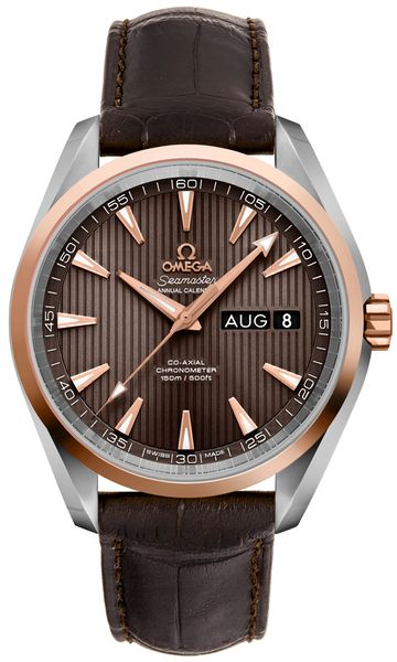 Omega Seamaster Aqua Terra Brown Dial Men's Watch 231.23.43.22.06.002