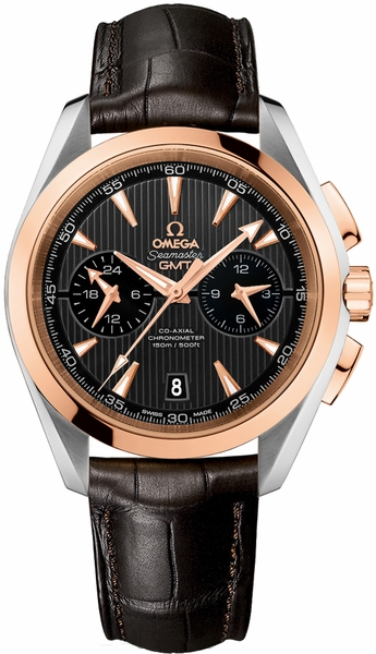 Omega Seamaster Aqua Terra Steel & Rose Gold Men's Watch 231.23.43.52.06.001