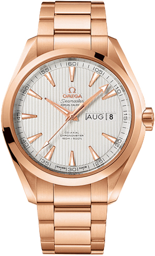 231 50 43 22 02 002 Omega Rose Gold Mens Watch