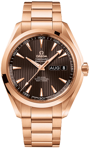 231 50 43 22 06 003 Omega Rose Gold Mens Watch