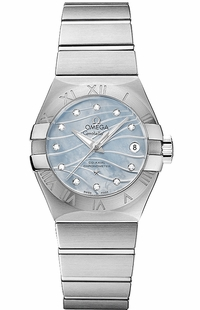 Omega Constellation Co-Axial Chronometer 27mm Women's Watch 123.10.27.20.57.001