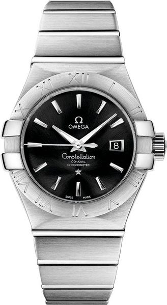 Omega Constellation Black Dial Women's Watch 123.10.31.20.01.001