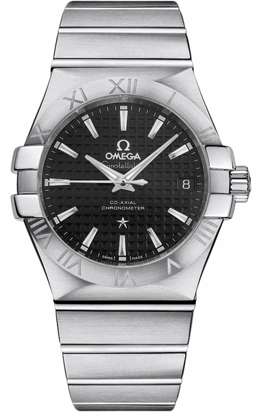 Omega Constellation Black Dial Men's Watch 123.10.35.20.01.002