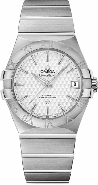 Omega Constellation Silver Dial Men's Watch 123.10.35.20.02.002