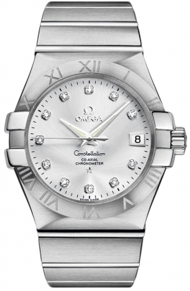 Omega Constellation Diamond Watch 123.10.35.20.52.001