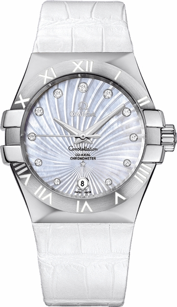 Omega Constellation White Dial Men's Watch 123.13.35.20.55.001