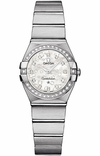 Omega Constellation White Mother of Pearl Dial Women's Watch 123.15.24.60.55.005