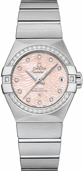 Omega Constellation Diamond Luxury Women's Watch 123.15.27.20.57.002